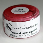 KENT Grit 2.5 microns Diamond Polishing Paste Lapping Compound in 20gr Container