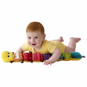 Musical Inchworm Educational Children Toys , Lamaze 60x8x6cm Musical Stuffed Plush Baby Toys