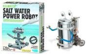 4M Salt Water Powered Robot Kit and Tin Can Robot