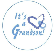 New Grandparents Baby Announcement Buttons - Grandma, Grandpa, Mimi, Nana, Papa