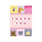 Baby Thank You Notes, Animal Alphabet