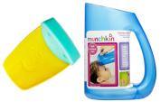 Aqueduck Bath Faucet Extender with Shampoo Rinser, Aqua/Blue