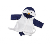 Baby Aspen Penguin Hooded Spa Robe, Wash and Waddle