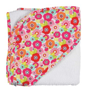C.R. Gibson Hooded Towel and Washcloth Set, Cutie Pie