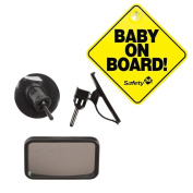 Safety 1st Baby on Board Front or Back Babyview Mirror with Baby On Board Sign