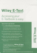 Theory and Design for Mechanical Measurements, 6e Wiley E-Text Reg Card