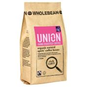 Union Hand Roasted Organic Fairtrade Natural Spirit Wholebean Coffee