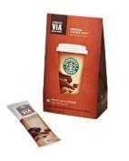 STARBUCKS VIA COFFEE SINGLES LATTE CAFE MOCHA