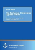 The Effectiveness of Performance Appraisal Systems