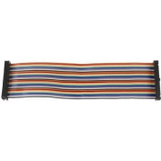 100mm Female To Female 40Pin IDC Ribbon Cable