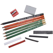 General Pencil Mixed Media Drawing Class Essential Tools Kit