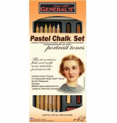 General Pastel Chalk Set For Portraits