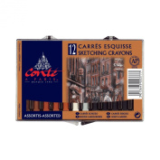 Conte Classic Colour Crayons, 12 Pack