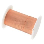 Tarnish Resistant Copper Wire 28 Gauge 40 Yard (36.5m) Copper Colour 42696
