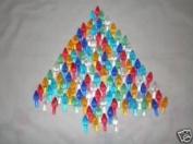 100 Ceramic Christmas Tree Plastic Lights Medium