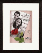 MCS Dakota, Wood Shadow Box Frame for a 20cm x 25cm Photograph, Colour; Walnut
