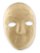 The Chenille Kraft Company Paper Mache Mask full mask 20cm . x 15cm . each [PACK OF 6 ]