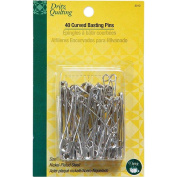 Dritz Quilting Curved Basting Pins - Size 3 - 40 ct.