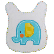 Neat Solutions Applique Print Coral Fleece Cosy Cloth Bathtime Warming Towel, Elephant
