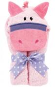 AM PM Kids! Mini Tubby Towel, Pink Pony