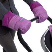7 A.M. Enfant Stroller Hand Warmers for Parents and Caregivers, Pink/Grape