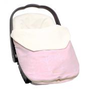 JJ Cole Bundleme Lite, Pink Leaf, Infant