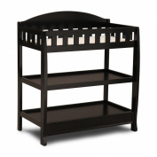Delta Children's Infant Changing Table with Pad, Black