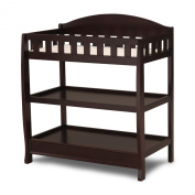 Delta Children's Infant Changing Table with Pad, Dark Chocolate
