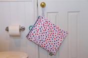 Spray Pal - Cloth Nappy Sprayer Splatter Shield with Storage Wetbag