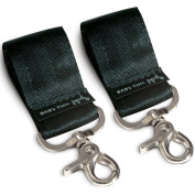 Petunia Pickle Bottom Women's Valet Stroller Accessory Clips, Black