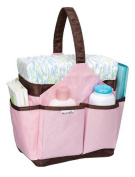 Munchkin Portable Nappy Caddy, Pink