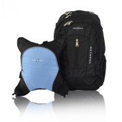 Obersee Bern Nappy Bag Backpack with Detachable Cooler
