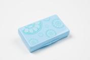 Uber Mom Tissue Box, Blue Rosetta