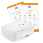 Prince Lionheart Ultimate Wipes Warmer with Prince Lionheart Ever-Fresh Replacement Pillows