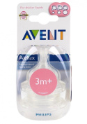 Philips Avent Airflex Silicone Nipple Variable Flow Bottle Teat 3m+ 3 Months New Good Gift for Mom and Baby. Ship Worldwide