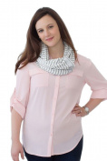 NuRoo Nursing Scarf - Grey Stripe