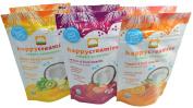 Happy Creamies Organic Superfoods Veggie & Fruit Snacks With Coconut Milk Variety Pack of 6