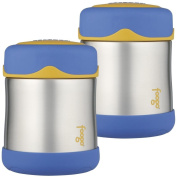 Thermos Foogo Leak-Proof Stainless Steel Food Jar, 300ml - 2 Pack