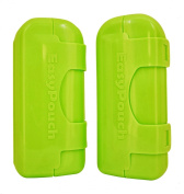EasyPouch Independence - The No Squeeze, No Mess, baby food pouch feeder. [2 Pack]