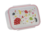 SugarBooger Good Lunch Box Divided Lunch Container, Hedgehog