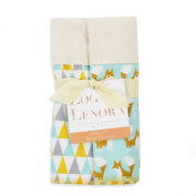 Logan + Lenora Organic Burp Cloths 'Fine Fox' Set of Two