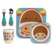 Skip Hop Zoo Feeding Set, Moose
