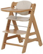 Hauck Beta High Chair, Natural, 6 Months and Up