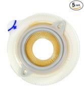 Assura Non-Convex, Skin Barrier Flange 1cm - 5.7cm . Stoma/Blue