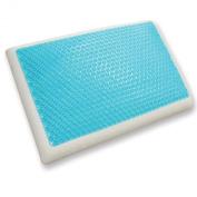 Classic Brands Reversible Cool Gel Memory Foam Pillow, Queen Size
