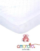 The Snugglepad 'Safe Sleep' Waterproof Quilted Fitted Crib Mattress Pad, White, 70cm x 130cm - The Very First 'Kind to Kids' Approved Crib Mattress Protector - Lovingly Designed By Nursery Experts to Raise Funds for Sick Children - Ultra Soft Comfort-P ..