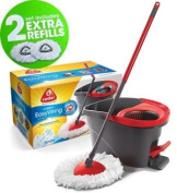 O'Cedar Microfiber Easy Wring Spin Mop & Bucket System with 2-Extra Mop Refills