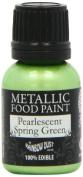 Rainbow Dust Metallic Paint Pearlescent Spring Green