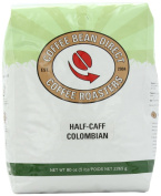 Half-Caff Colombian, Whole Bean Coffee, 2.3kg Bag