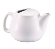 Browne Foodservice 564023W Ceramic Teapot, 470ml, White